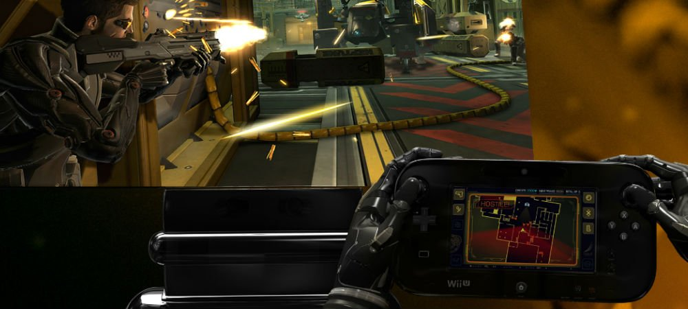 Review: Deus Ex Human Revolution: Director's Cut (Wii U) screenshot