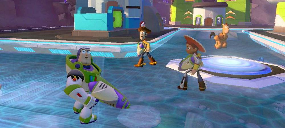 Impressions: Disney Infinity: Toy Story in Space Play Set photo