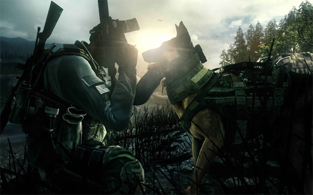 This Call of Duty: Ghosts scene is straight out of MW2