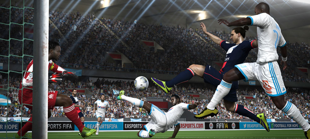 FIFA 14 adds layers of realism to the pitch photo