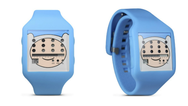Adventure Time watches photo