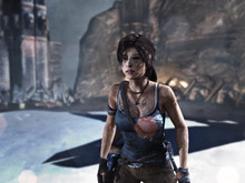 Tomb Raider announcement photo