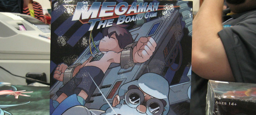 Mega Man Board Game photo