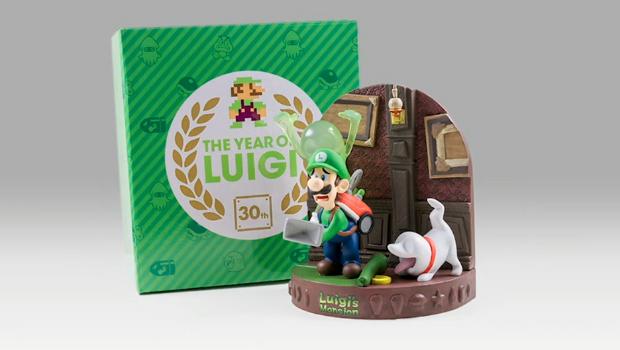 Those Club Nintendo Luigi Statues Are All Gone