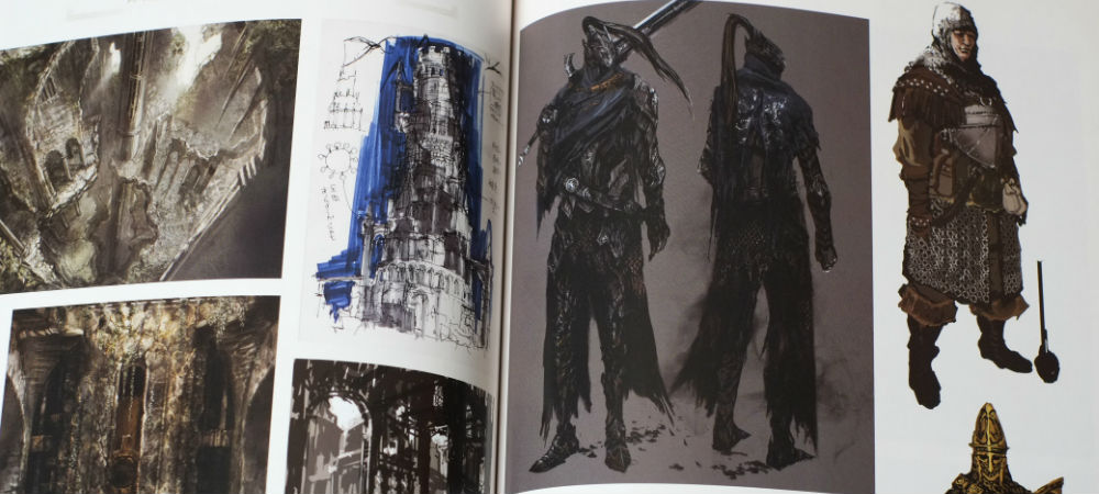 Dark Souls art book photo