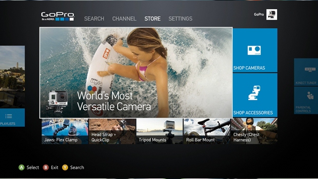 Watch video, buy cameras: Xbox One, 360 getting GoPro app