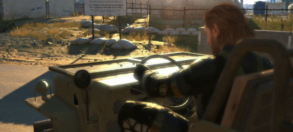 Hands-on with MGS V photo
