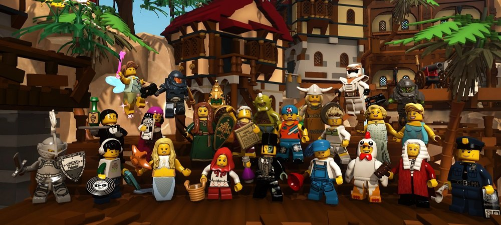 LEGO Minifigures preview photo