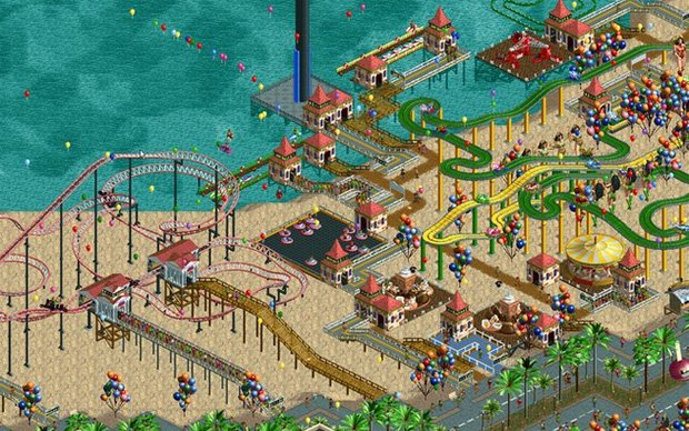 deal: RollerCoaster Tycoon 1 - 3 for