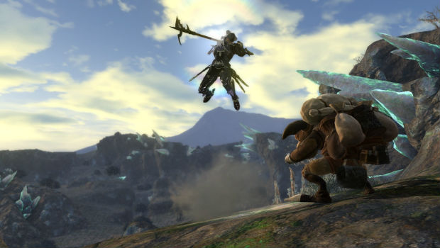 Vita remote play for Final Fantasy XIV is viable for leveling