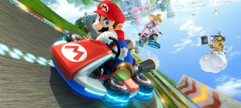 Review: Mario Kart 8 photo