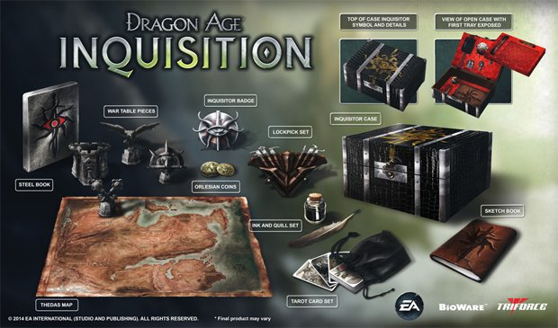 Dragon age inquisition all tarot cards