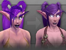 Female Night Elf photo