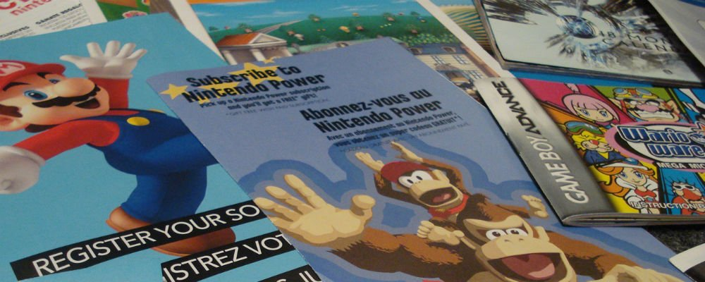 Videogame manuals photo