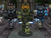 Halo in Minecraft photo