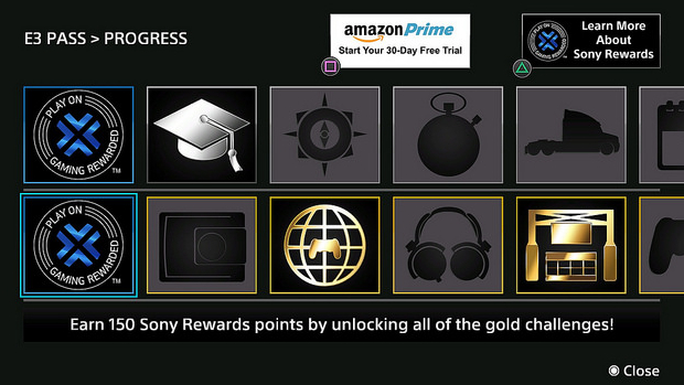 PlayStation's E3 app gives you Sony Rewards points, Amazon trial
