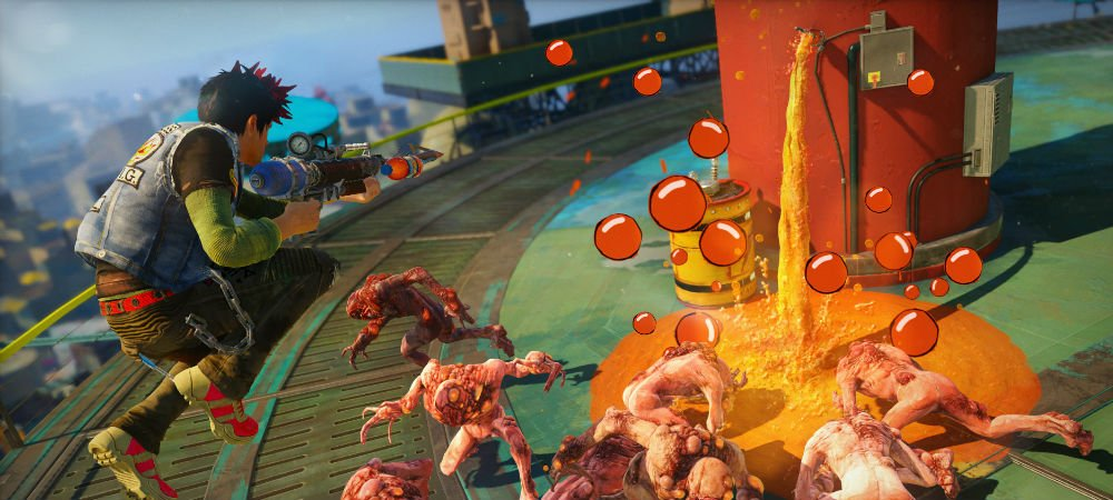 Sunset Overdrive hands-on photo
