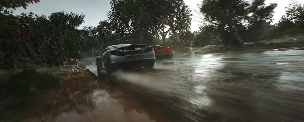 Driveclub weather system photo