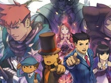 Prof. Layton vs. Phoenix  photo