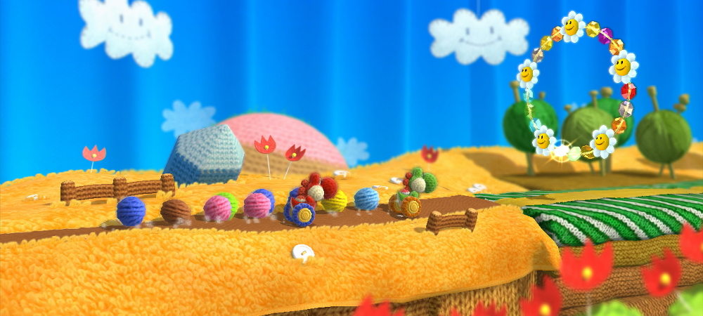 Hands-on: Yoshi's Yarn photo
