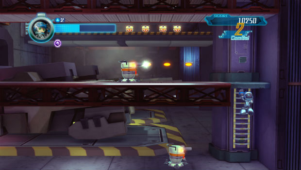 Here's a look at Mighty No. 9's multiplayer screenshot