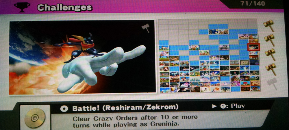 The Super Smash Bros  for Wii U challenges unlocking guide