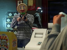 GTA V holiday photo