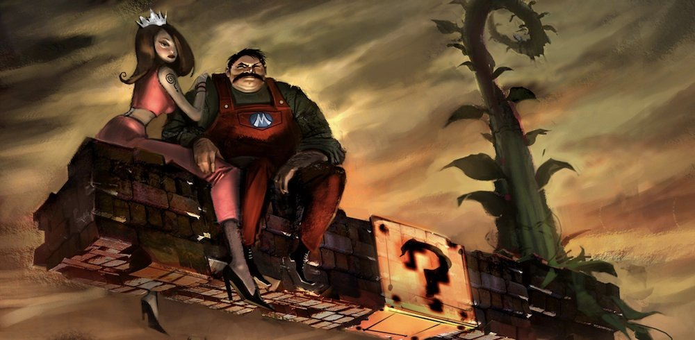 Six sinister things about Super Mario photo