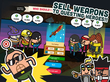 Weapon shop game photo