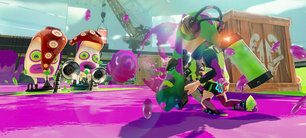 Splatoon campaign photo