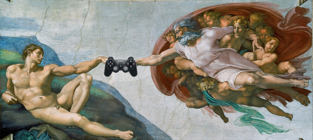 Religion and videogames photo