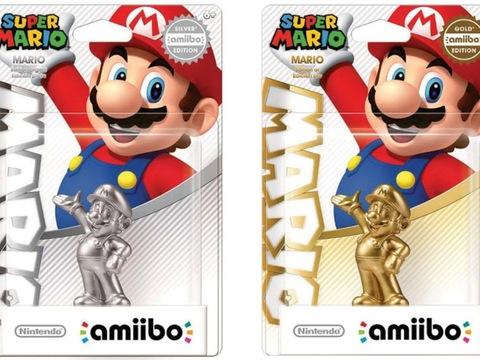 Silver Mario amiibo photo