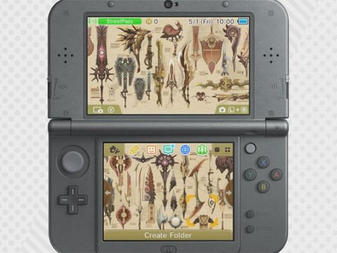 MonHun 3DS theme photo