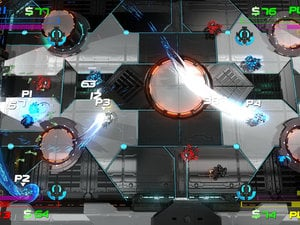 This new indie project is described as Geometry Wars meets Smash TV photo