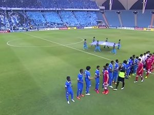 Saudi Arabian soccer fans have some excellent Mortal Kombat choreography photo