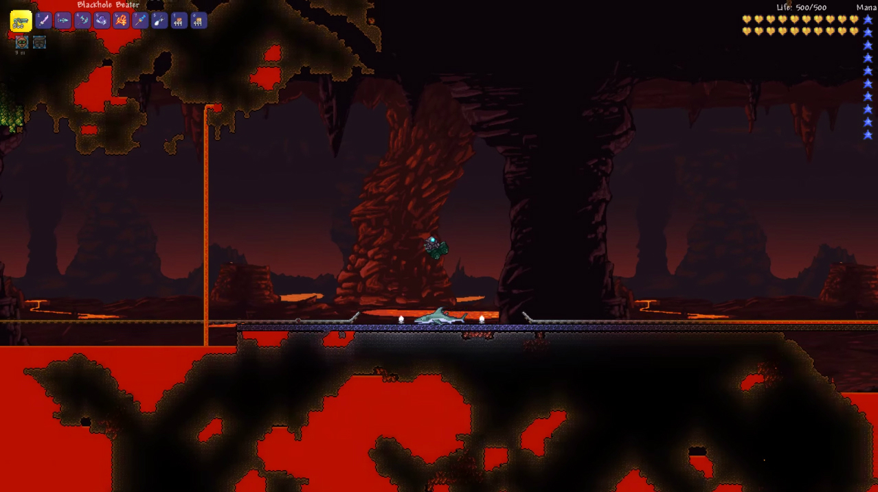 Terraria 1.3 has mine carts and a release date: June 30