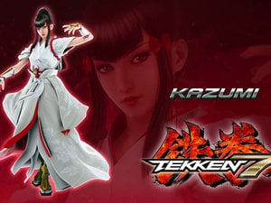Kazumi Mishima is heading to Tekken 7, and she has a freaking tiger photo