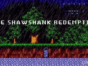 Would you play this 8-bit Shawshank Redemption game? photo