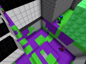 Splatoon in Minecraft photo
