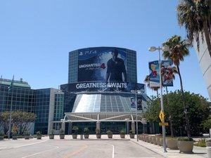 LA E3 ads photo