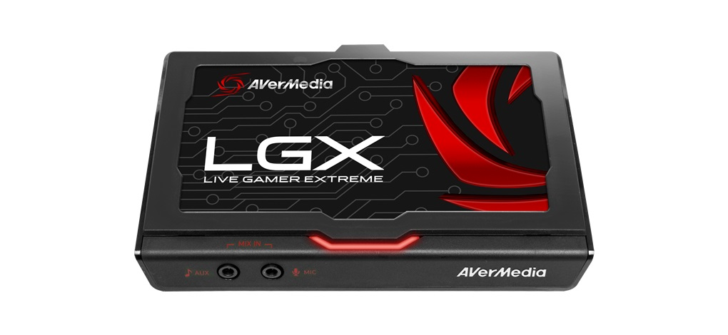 AVerMedia LGX review photo
