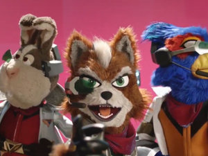 Star Fox x amiibo photo
