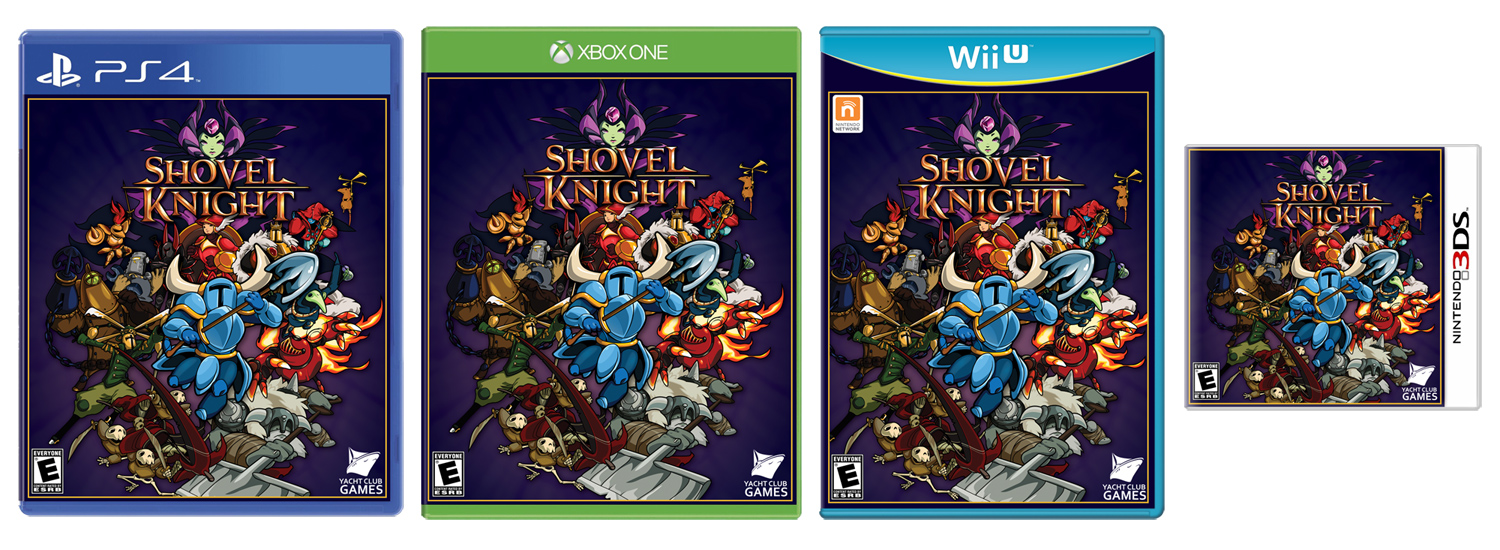 Shovel Knight retail photo