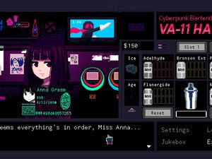 VA-11 HALL-A's got cat girls, booze, and an oppressive state photo