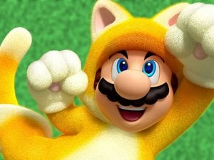 Mario, but completely covered in fur thanks to Unreal 4 photo