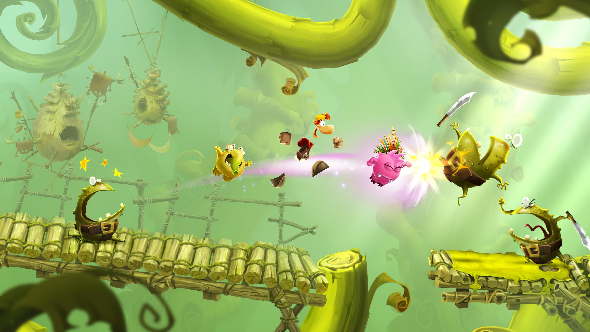 Too bad Rayman Adventures is skipping consoles screenshot