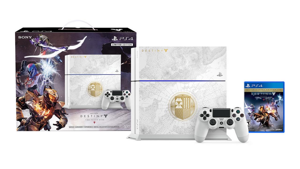 Limited edition Destiny: The Taken King PS4 bundle screenshot