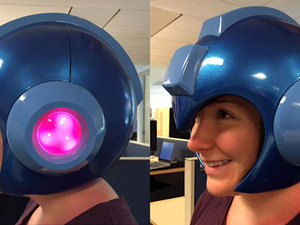 Mega Man helmet photo