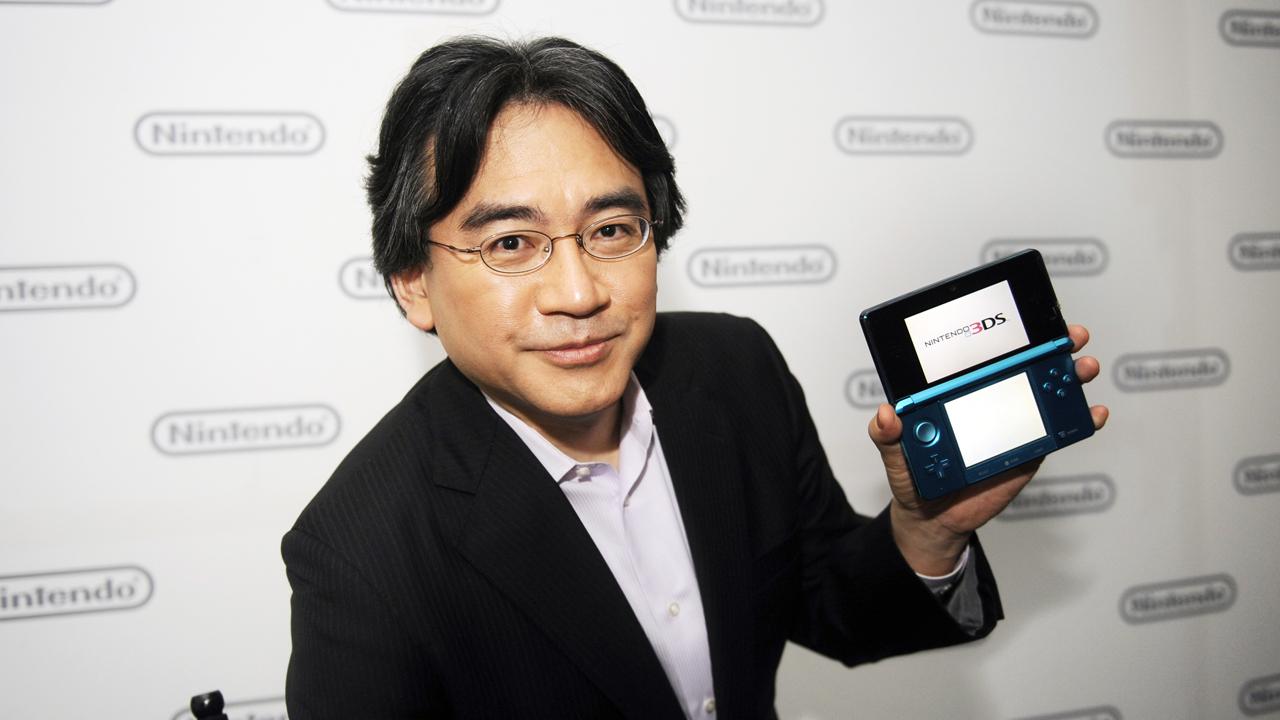 Satoru Iwata photo