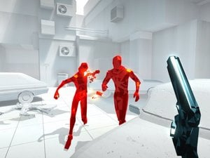 SuperHot gameplay photo
